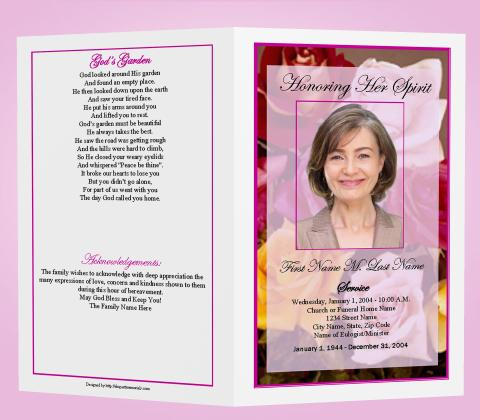 ritairvineptvus soup – Free Funeral Program Template Microsoft Word